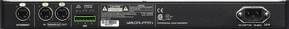 Lab Gruppen NLB 60E NomadLink Network Bridge NLB60E