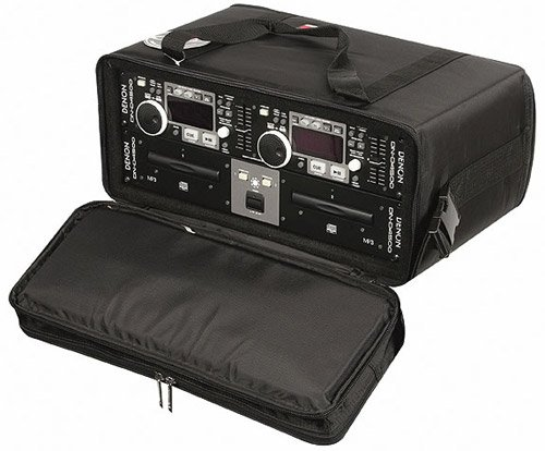 "Odyssey BR412 Portable Rack Bag, 4 RU, 12"" Depth (Black) BR412-BLACK"