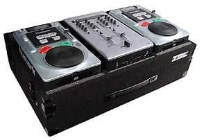 Carpeted Case for Numark Fusion CD DJ System