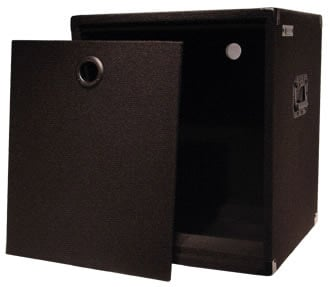 "Carpeted Econo Rack, 12 RU, 17"" Depth"