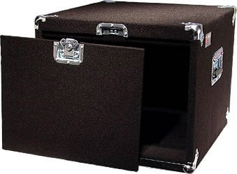 Carpeted Rack Case, 8 RU