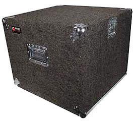 Carpeted Rack Case, 10 RU