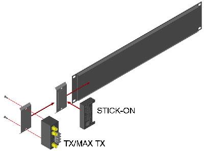 Radio Design Labs MB3-RDL Kit to Mount ST, TX Series Modules on FP Panel MB3-RDL
