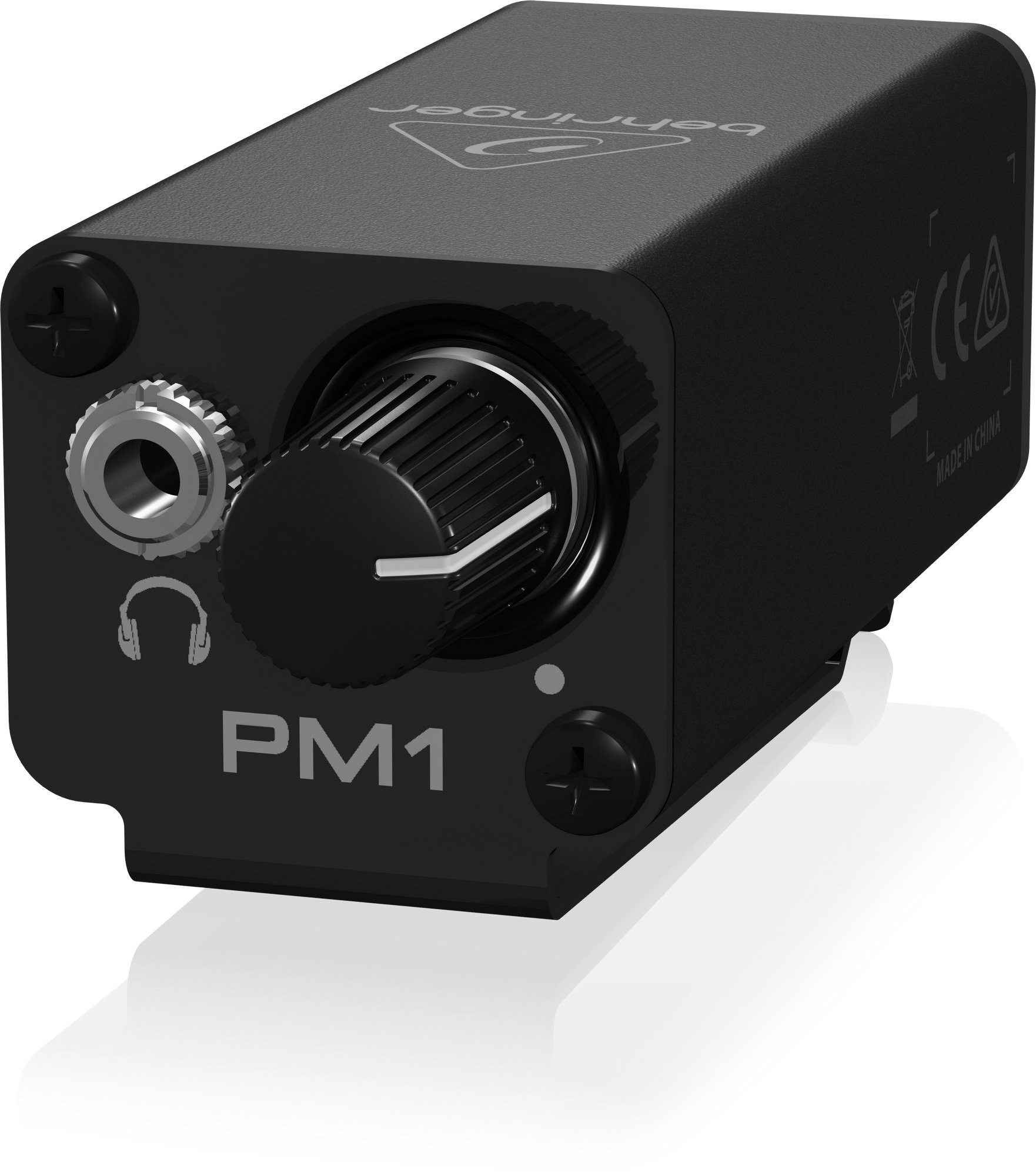 behringer pm1 behringer compact personal in ear monitor amp full compass systems. Black Bedroom Furniture Sets. Home Design Ideas