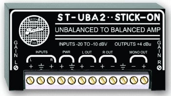 Radio Design Labs ST-UBA2 Unbalanced to Balanced Amplifier STUBA2