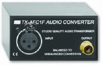 Balanced to Unbalanced Audio Converter