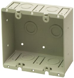Dual-Gang Universal Wall Box