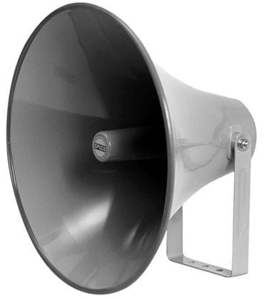 """20"""" Aluminum Weatherproof Horn Casing without Driver"""