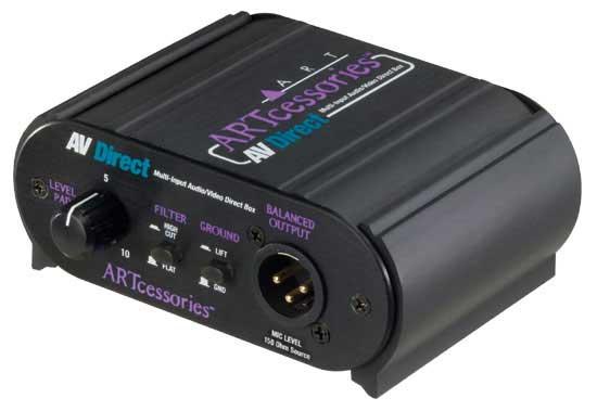 AV Direct Multi-Input Audio/Video Direct Box