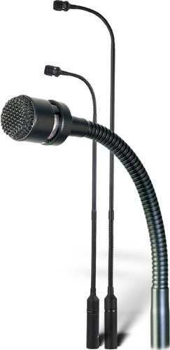"Gooseneck Condenser Microphone with XLR Connector, 15"""
