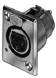 Connector 3 Pin XL F No Latch