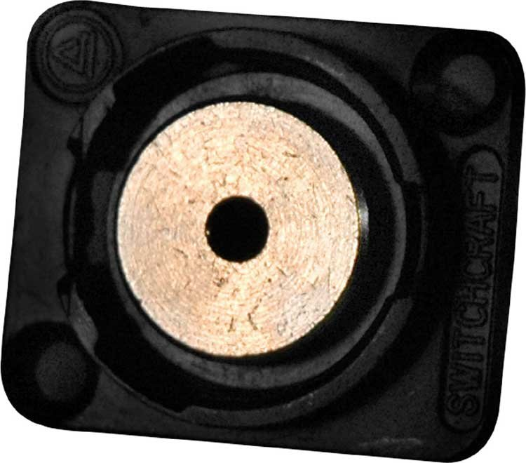 3.5mm Stereo Panel Mount Connector