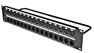 Switchcraft QGPK116FB  Patchbay, QG Female  QGPK116FB