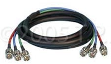 TecNec 3BNC-3 Cable 3 Channel BNC 3Ft  3BNC-3