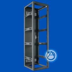 "Floor Rack, 25.5"" Deep Welded Cabinets, 40RU"