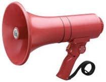 Megaphone 15w Siren Red