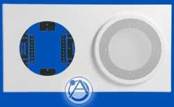 """Baffle for 8"""" Speaker and 8"""" or 9"""" Analog Clock"""