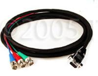 Cable,HDTV 3ch BNC M/VGA M 10`