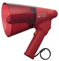 Megaphone 6w Siren Red