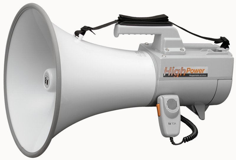 30W Shoulder-Mount Megaphone