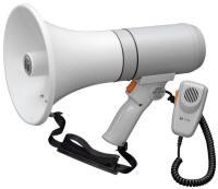 TOA ER3215 15w Megaphone Mic, white/Gray ER3215