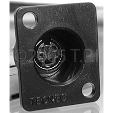 Connector Recessed 4pin SVHS
