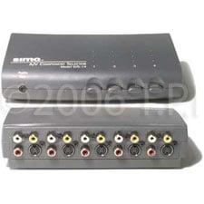 Switcher,SIMA Pass 4 input A/V