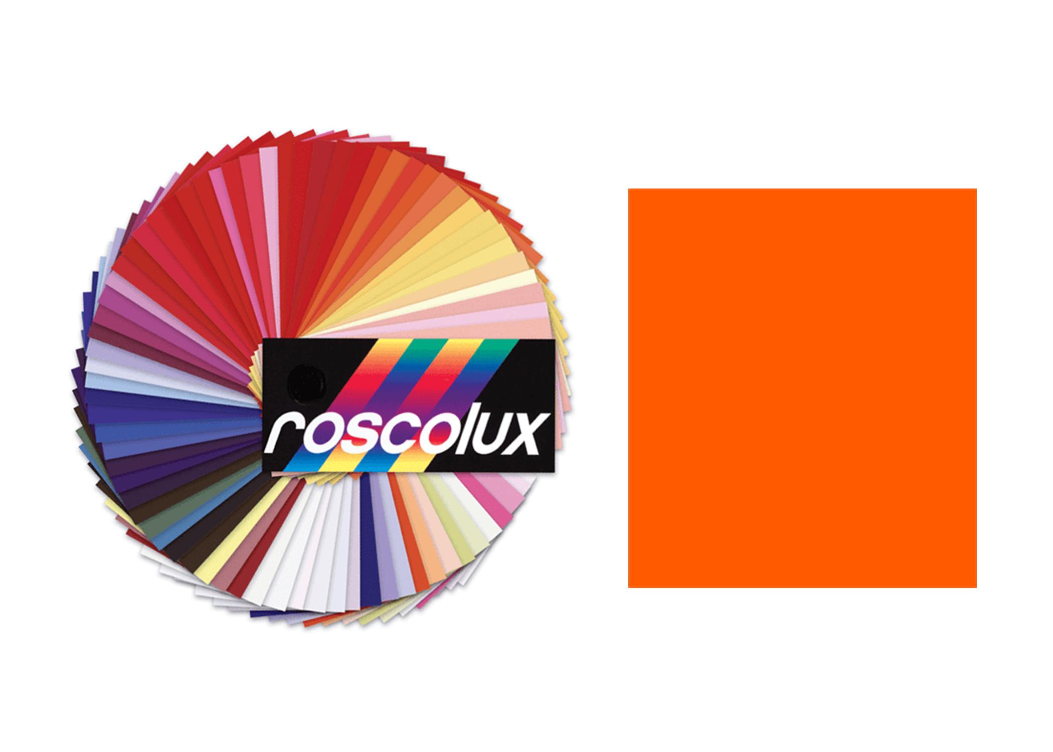 Rosco Roscolux #23 Orange Gel Filter