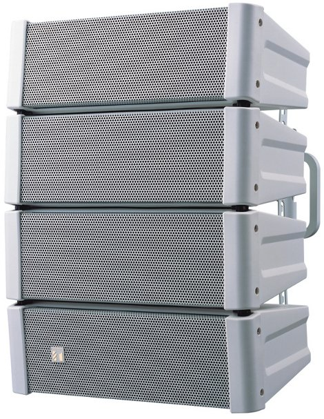 600W Weather-Resistant Variable Dispersion Speaker in White