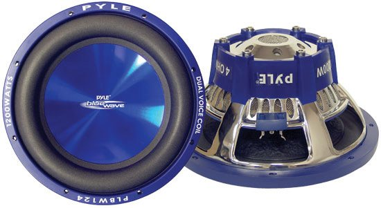 "12"" Blue Wave Subwoofer, 1200W"