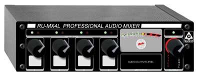 4-Input Line Mixer