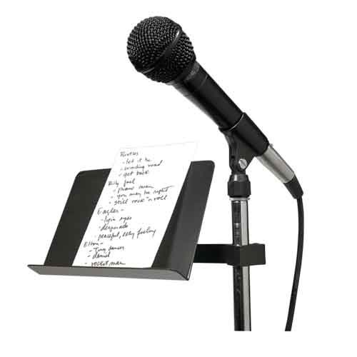 Small Stand-Mount Music Stand