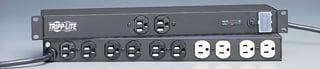 1U, 15 amp Rackmount, 12 outlt