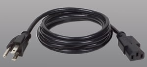 12' Cable AC Power NEMA/IEC