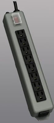 Outlet Strip 9 15ft cord