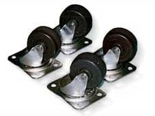 """2-1/2"""" Plate Casters"""