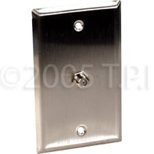 WallPlate 1gang F Connector