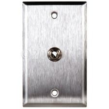 "Wall Plate w/1 1/4""TRS Jack"