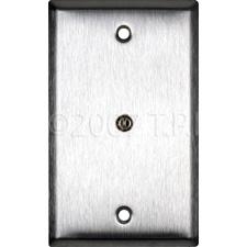 "1/8"" Wall Plate Solder Black"