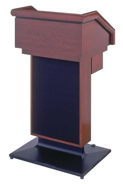Lectern One Solid Dark Cherry