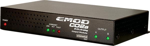 CobraNet Output Module w/2Anlg
