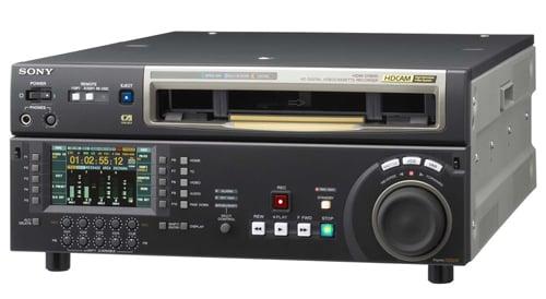 HDCAM Studio Recorder w/ Betacam + MPEG IMX Playback