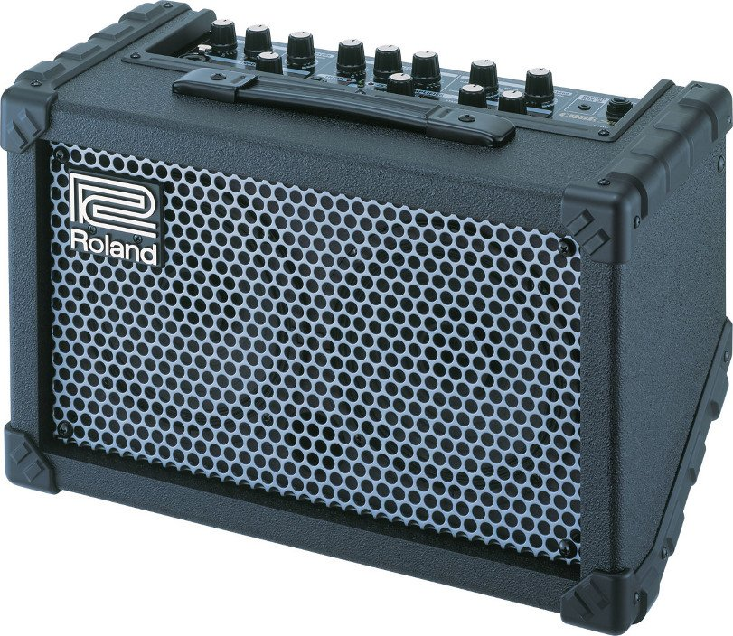 Battery-Powered Stereo Guitar/Vocal Modeling Amplifier