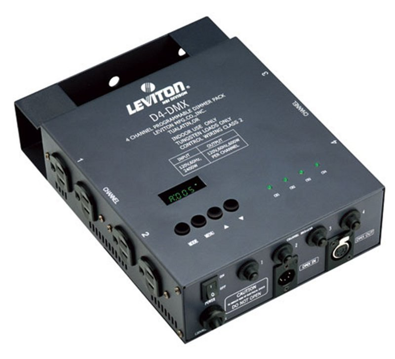 4 Channel Portable Dimmer