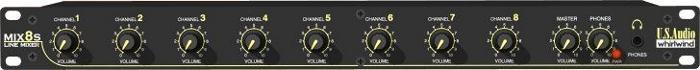 Mixer 8chl Stereo