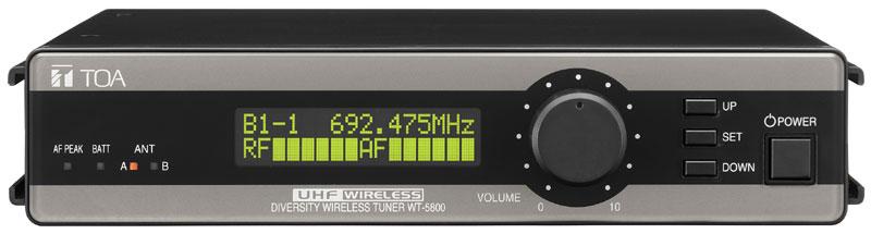 Wireless Receiver 64 Channel