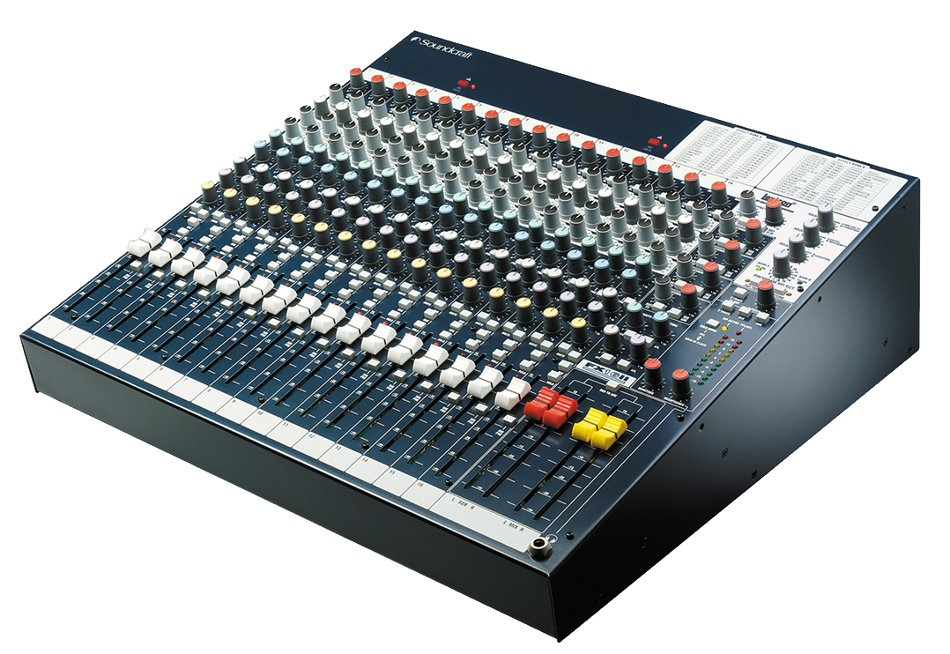 16-Channel Compact Mixer with Onboard Lexicon Effects Processor