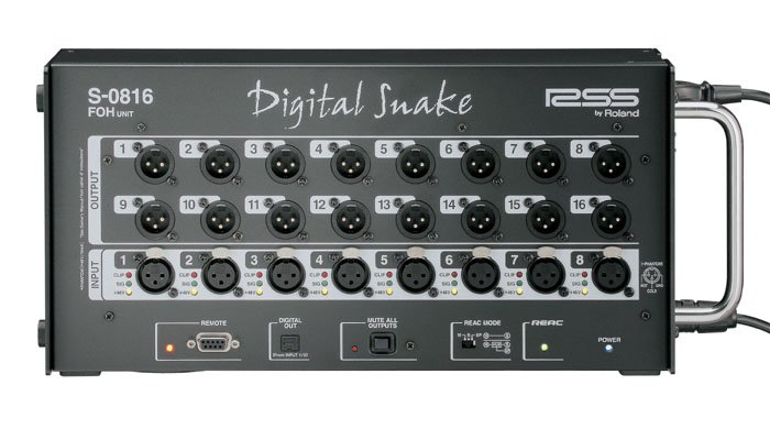 Roland System Group S-0816 Digital Snake, Front of House Unit S0816