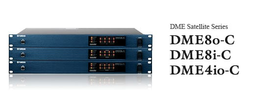 DME Satellite 4 Mic/Line I/O