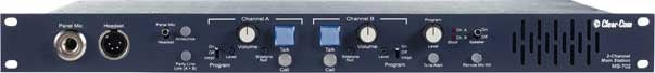 2 Channel Main Intercom Station with Power Supply